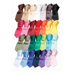 SATIN TIE CRAVATE SATIN PREMIER