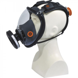 MASQUE RESPIRATOIRE COMPLET - FIXATION ROTOR®